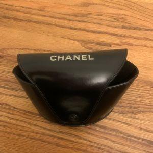 CHANEL Black Sunglass Case